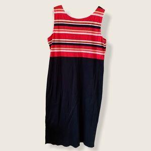 Ladies XL sleeveless Luz Claiborne maxi dress